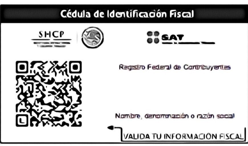Cedula de Identificación Fiscal