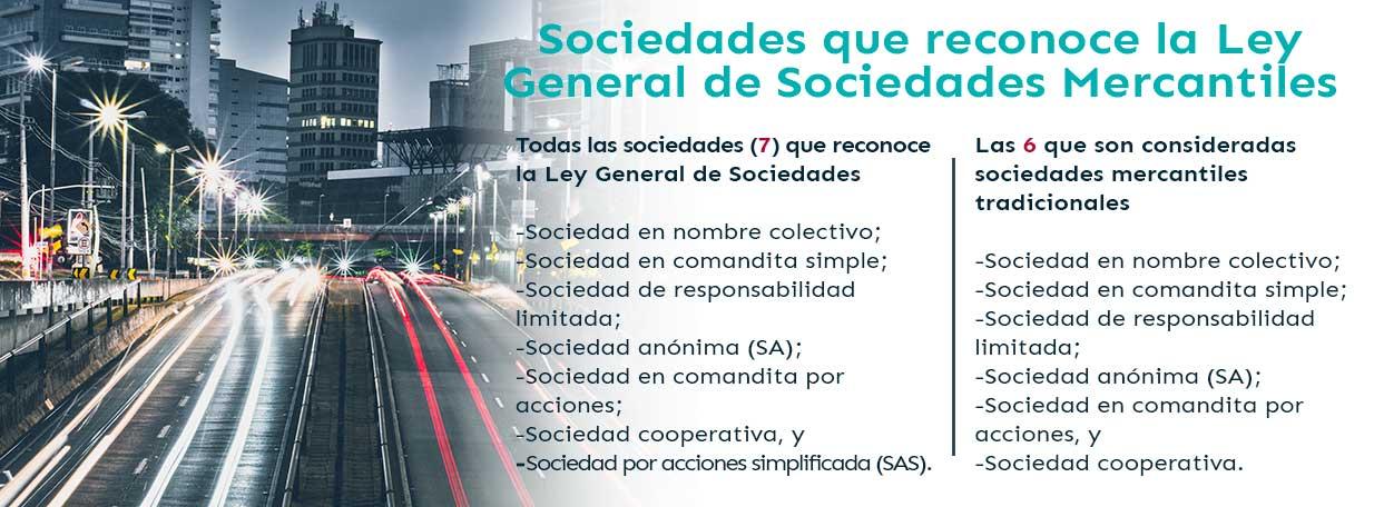sociedades mercantiles en mexico