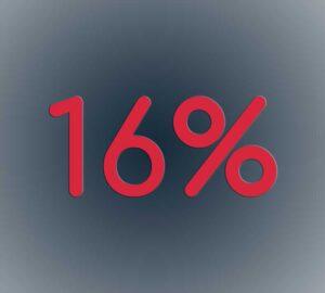IVA 16%