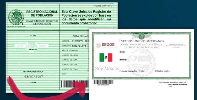 Clave Única de Registro de Población